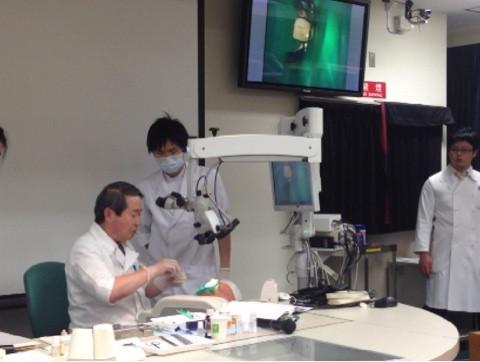 須田英明先生の歯内治療セミナー参加